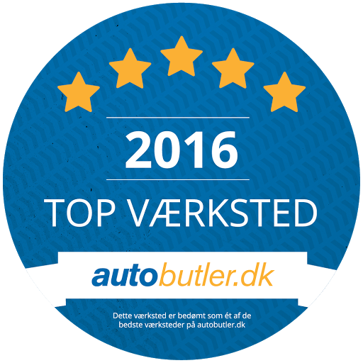 Midtjysk dæk- & servicecenter er kåret som topværksted 2016 af autobutler