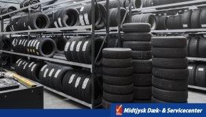 dækopbevaring hos midtjysk dæk- & servicecenter